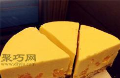 圖解不用烘烤的芒果芝士蛋糕的做法 簡單芒果水果生日蛋糕做法