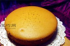 8寸紅棗戚風蛋糕自作方法 香甜棗糕烘焙秘訣