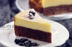 不开裂不内陷布朗尼芝士蛋糕的做法 六寸布朗尼芝士蛋糕原料配方