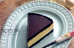 怎么做巧克力芝士蛋糕好吃 超完美六寸巧克力蛋糕做法