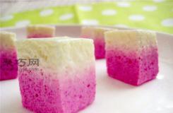 双色慕斯蛋糕怎么做 椰香火龙果生日蛋糕做法