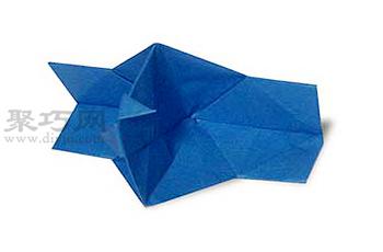 照相機的折法圖解教程 教你怎么折紙照相機