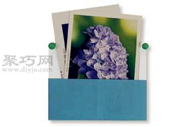 明信片盒子折纸教程图解 来学如何折纸明信片盒子