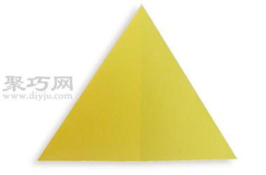 三角形的折法图解教程 教你怎么折纸三角形