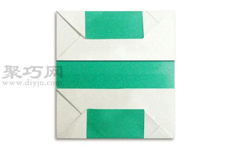 手工折紙除號教程 除號的折法圖解