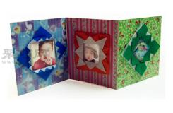 相冊折紙教程圖解 來學如何折紙相冊