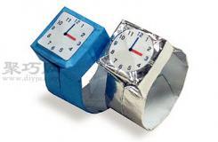 手表折纸教程图解 来学如何折纸手表