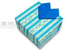 心型盒子的折法圖解教程 教你怎么折紙心型盒子