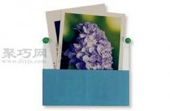 明信片盒子折紙教程圖解 來學如何折紙明信片盒子