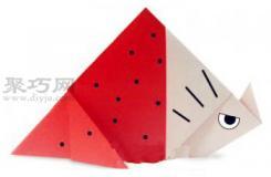 手工折纸三角龙步骤图解 折纸三角龙的折法