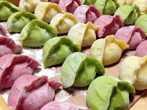 多色蔬菜豬肉水餃做法 蔬菜餃子皮怎么做