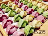 多色蔬菜豬肉水餃做法 蔬菜餃子皮怎么做24