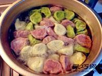 多色蔬菜豬肉水餃做法 蔬菜餃子皮怎么做25