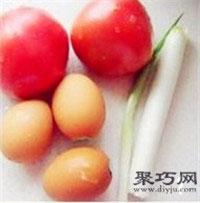 酸甜西�t柿�u蛋�子的做法 �和�易消化水�做法1