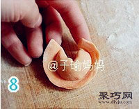 胡蘿卜元寶餃怎么包 餃子的包法元寶餃14