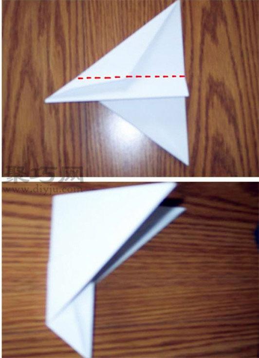 F14戰斗機折法圖解
