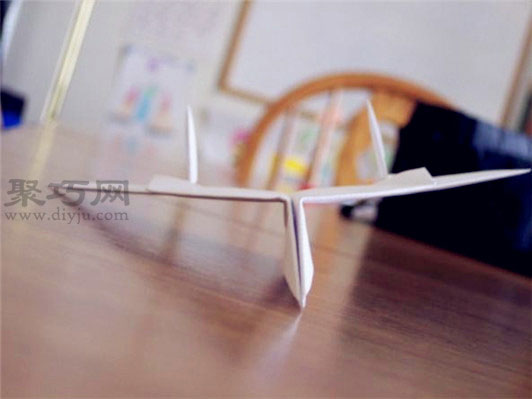 f14战斗机折法图解 雄猫f14纸飞机的折法