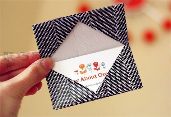 手工折纸钱包图解教程 教你如何