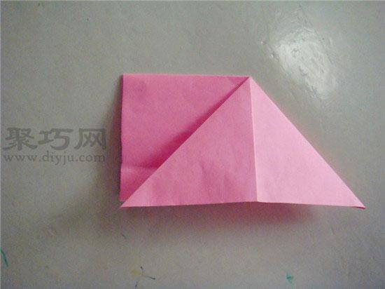 折纸  幼儿园中班折纸教案:手工折纸鱼