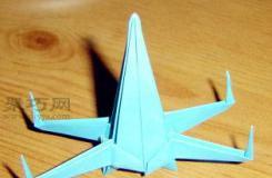 星球大战X翼飞船折纸教程 怎么折立体x翼战斗机