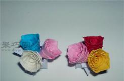 星星紙折玫瑰花圖解 告訴你折星星的紙能折什么
