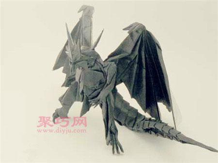 折紙大師神谷哲史作品:古代龍