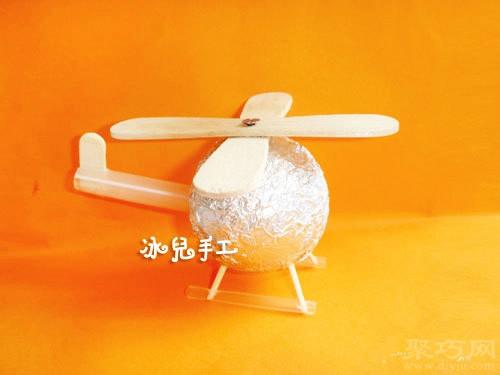吸管手工制作直升飛機