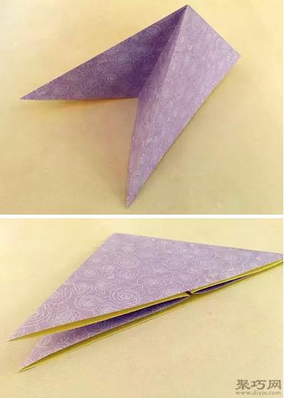 纸折可爱小兔子纸灯笼折法步骤图解