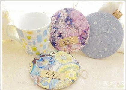 光盘杯垫教程教你用废光盘 如何手工制作简易杯垫图片