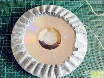 光盤杯墊教程教你用廢光盤