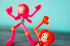 毛根和吸管手工制作史上最简单跳舞小人教程
