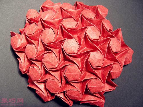 美轮美奂的3d立体折纸大全