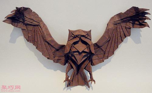 3d动物立体折纸欣赏