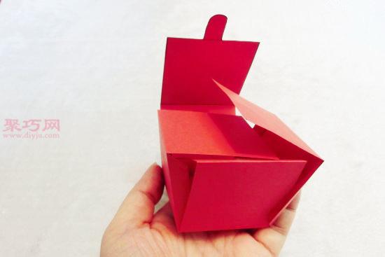 怎么折纸礼物盒 简单漂亮礼物盒的制作方法图片
