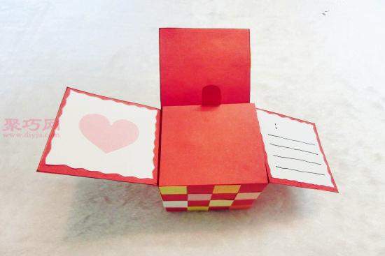 简单漂亮礼物盒的制作方法