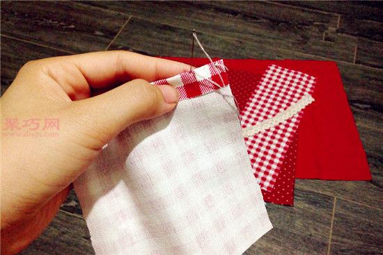 餐垫怎么做?旧衣服DIY布艺餐垫教程