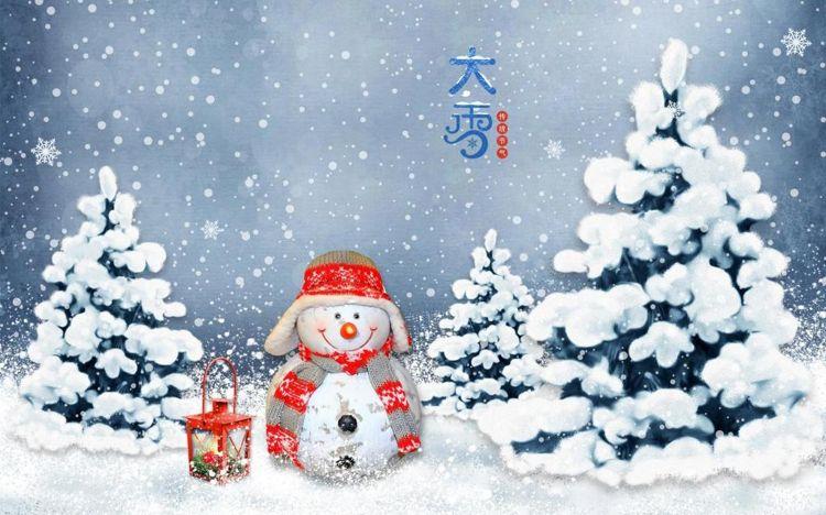 24節氣之大雪節氣圖片大全