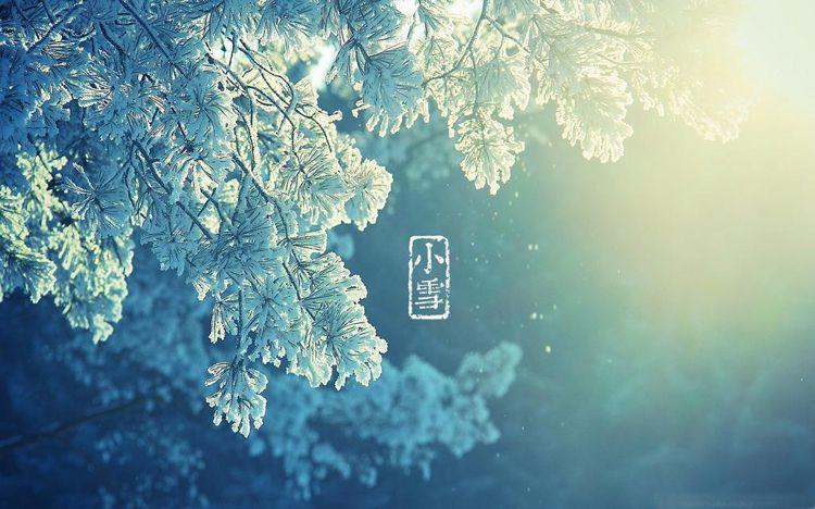 24節氣之小雪節氣圖片大全