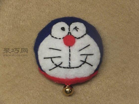儿童手工勋章制作-用易拉罐制作毛毡勋章教程