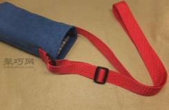 手工制作杯套教程 教你制作漂亮又實用的帶肩手工水杯套