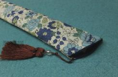 手工扇套制作方法教程 如何�o折扇做��好看的扇套
