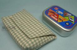 翻盖棉麻小包制作教程 教你如何制作棉麻翻盖小包