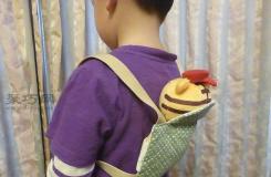 布偶背包的制做教程 小朋友一定會喜歡的手工禮物