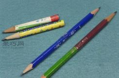 鉛筆短了怎樣再次利用?教你如何改造短鉛筆