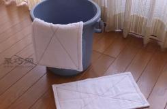 生活小妙招:利用毛巾變廢為寶改造成十分實用的抹布
