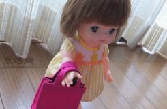 迷你毛氈手提包  給小玩偶當萌萌小包包