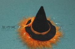 女巫帽發卡手作教程 教你如何DIY女巫帽子發卡