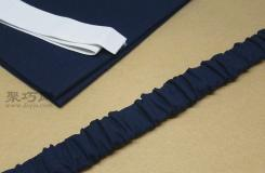 布�手工教你用布制作��用精致的松�o��配件