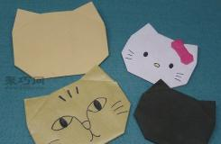 折紙可愛的hellokitty小貓教程