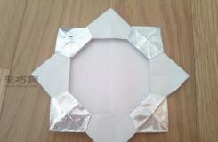 如何制作有趣的手工折纸银牌